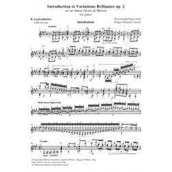 Introduction et Variations Brillantes op. 2 for guitar
