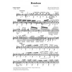 Rondeau for guitar