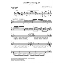 Grand Caprice op. 34 for guitar