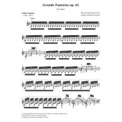 Grande Fantasia op. 61 for guitar