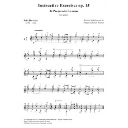 Instructive Exercises op. 15