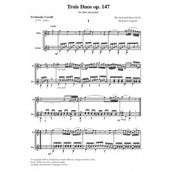 Trois Duos op. 147